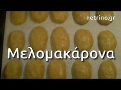 Μελομακάρονα - Η παραδοσιακή συνταγή γρήγορα και εύκολα - YouTube Desserts With Biscuits, Greek Sweets, Greek Recipes, Sweet Potato, Bread, Vegetables, Greek Beauty, Youtube, Food