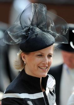 Sophie, Countess of Wessex attends the first day of Royal Ascot 2009 at Ascot Racecourse on June 16, 2009 in Ascot, England. (Photo by Samir Hussein/WireImage)