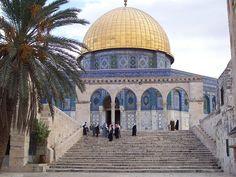 La Cupola della Roccia è impropriamente chiamata talora Moschea della Roccia. Situata a