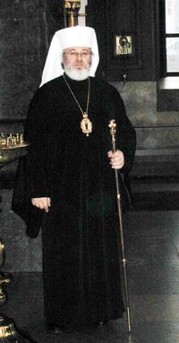 Archbishop Leo of Karelia and All Finland is the head of the Finnish Orthodox Church (accounts for only 1.1% of Finns, but still is a state church along with the majority church Evangelical Lutheran, which has 78.2% of Finns as its members). Archbishop Leo studied in Kuopio seminary. It is also where the archbishop is seated.