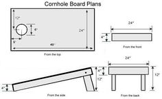 How to Build Cornhole Boards...I want to craft some one day!