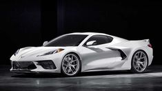 The 2020 Chevrolet Corvette offers impressive performance at a reasonable price… but we prefer these aftermarket wheels to the factory options. Corvette Wheels, Classic Corvette, Chevrolet Corvette Stingray, 1957 Chevrolet, Fancy Cars, Cute Cars, Cool Sports Cars, Sport Cars, Lamborghini