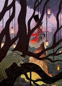 Celia Bowen - A gallery-quality illustration art print by Sonia Liao for sale.