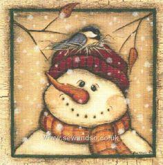 Buy Snowman I Chart Book online at sewandso.co.uk