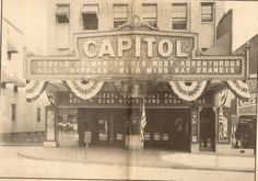 Capitol Theatre Pottsville, Pa Beautiful theatre! Torn down and now it's a parking lot
