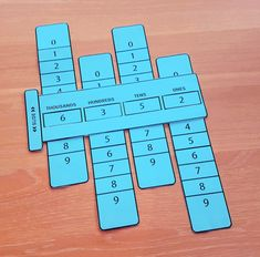 Place Value Sliders - Math Learning Aid by The Novel Classroom | Teachers Pay Teachers