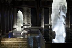 Grand Hyatt New York lobby sculptures