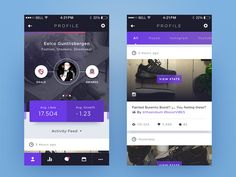 Weekly Layup #9 - Voicey Profile Page by   followilko