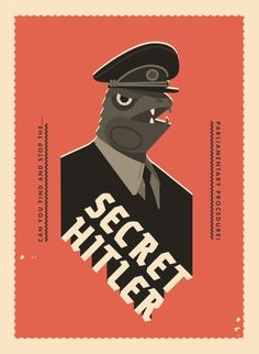 Secret Hitler Illustration & Graphic Design – Mackenzie Schubert – Medium