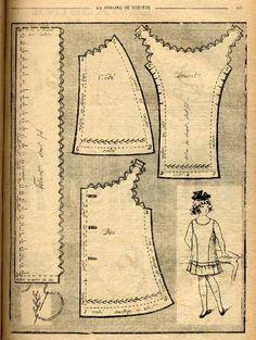 Bleuette 1919 - Robe de dessous
