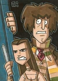 The Doctor and Leela