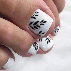 Pedicure Designs, Pedicure Nail Art, Toe Nail Designs, Toe Nail Art, Manicure And Pedicure, Gold Toe Nails, Pretty Toe Nails, Cute Toe Nails, Feet Nails