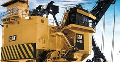 Cat 7495 Mining Shovel which was a 495 Bucyrus-Erie for http://ift.tt/2gUqHTb