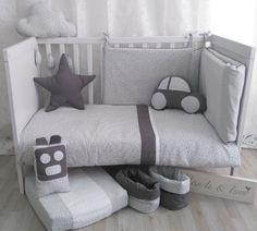 Pack bebé. Funda nórdica + protector cuna. handsandlove.com