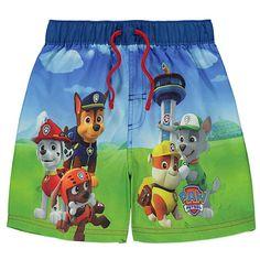 Boys Paw Patrol Swim Shorts