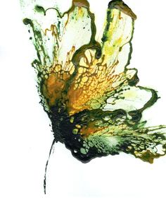 """Unique Flower Art, Green Art, Botanical Painting, Floral"" - Acrylic on Cotton Ragg Paper, in Floral and Flower Paintings. Catherine Jeltes, Gallery Zoo Art $38.00 http://www.galleryzooart.com/art/unique-flower-art-green-art-botanical-painting-floral/"