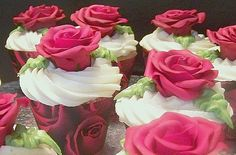 Kentucky Derby Run for the Roses Cupcakes - Cake Central