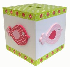 BIRDEE CUBE MONEY BOX