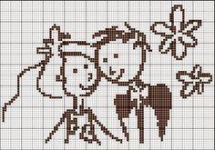 Oi gente!!  Hoje trago sugestões para bordar as lembrancinhas de casamento, noivado.  Podem fazer rótulos em ponto cruz para latinhas, toalh...