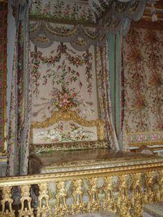 Versailles - Grandi appartamenti della Regina - camera della regina