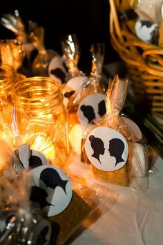 S'more Wedding Favors - hmmmmm, I wonder who thought of that one.  If the venue has a bonfire area, S'mores will be a great favor to give.