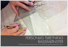 Workshop; Personlig tilretning - grundmønster til kjole og overdele | Skaberlyst