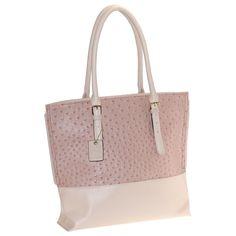 Buxton Womens Leather Adjustable Buckle Tote Handbag. Gold finish hardware