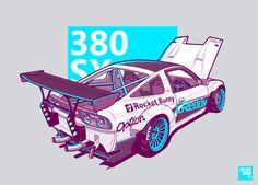 Rocket Bunny 380SX on Behance