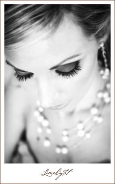 Lange Farms, Bride portrait, makeup, necklace, black and white, Limelight Photography, www.stepintothelimelight.com