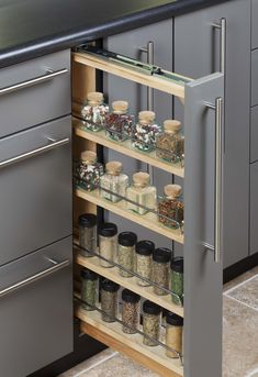 Kitchen cabinet storage - The Most Popular Kitchen Storage Ideas on Houzz – Kitchen cabinet storage Kitchen Room Design, Kitchen Cabinet Design, Modern Kitchen Design, Home Decor Kitchen, Interior Design Kitchen, Kitchen Ideas, Kitchen Inspiration, Eclectic Kitchen, Pantry Design