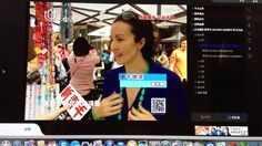 Founder and Designer Katia Steilemann gives an interview during Lifestyle and Design Fair in Shanghai on May 1st. 2014 about the innovative eco-chic jewelry Grabling that comes from corn.