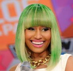 Strange Nicki Minaj Bobs And Cute Hair On Pinterest Short Hairstyles Gunalazisus
