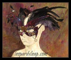 Blackbird Masquerade Mask