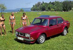 """SAAB Red Baron Foto: tidningen Bilsport, publicerad med tillstånd från Bilsport. """"SAAB:s bot mot Volvo-feber"""" Bilsport nr.16 1980 Historia 1980 hade Saab 99 fått ett rykte om sig av v..."""