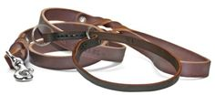 Dean and Tyler Bundle One Tranquility Collar Nickel 24Inch by 12Inch with One Matching Love To Walk Leash 6Feet Stainless Snap Hook Brown *** Details can be found by clicking on the image.