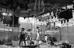 Prince and band perform on stage on the Lovesexy Tour at Feijenoord Stadion De Kuip Rotterdam Netherlands 17th August 1988