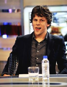 jesse eisenberg. It's okay I'm a nerd...I just think he is so cute like forreal tho. We are so getting married one day.