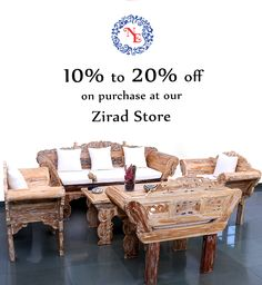 Make your living area a perfect place to spend time with your near ones by using this classy and ethnic looking furniture only from Nostalgia Enterprises. ❝Flat 10 to 20% off across all the products - Great Monsoon Bargains! ❞ whatsapp +91 73918 68437 www.nostalgiaenterprises.com #nostalgiaenterprises #furniture #style #design #instadecor #instadesign #besthomestore #lifestyle #discount #rainingsale #monsoonoffer #grab #zirad #alibaug #sale #offer #ranges #grabthismonsoonoffer #mustvisit