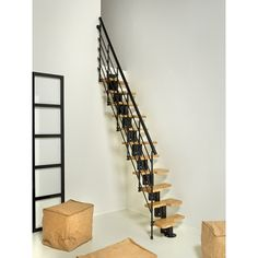 Attic Ladder : Space Saving Solution to your Home #AtticStaircaseStockholm, #Staircase, #InteriorDesign, #Furniture