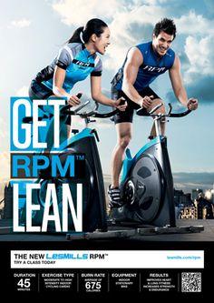 Les mills Q2/12 RPM poster