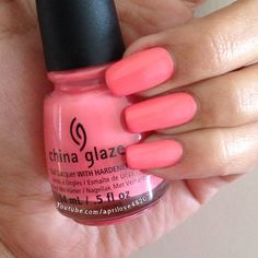 China glaze petal to the metal nail polish swatch from city flourish spring 2014 collection