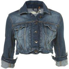 Indigo Denim Crop Jacket ($80) ❤ liked on Polyvore featuring outerwear, jackets, coats, coats & jackets, women, indigo denim jacket, cowboys jacket, blue denim jacket, western jackets and western denim jacket