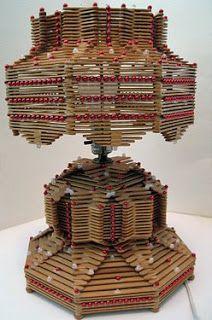 ROWDY GRANDMA: Folk art and popsicle sticks!!!