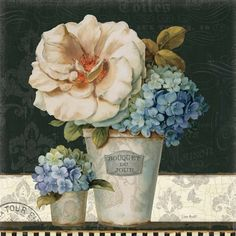 French Vases II by Lisa Audit art print