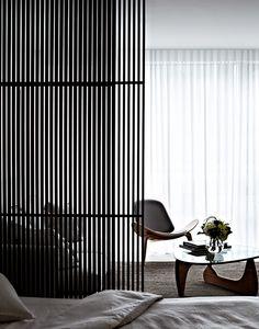 Bedroom divider. Koichi Takada Architects