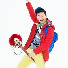 Park Seo Joon, Kim So Hyun & Lee Hyun Woo for UnionBay's Spring 2014 Ads
