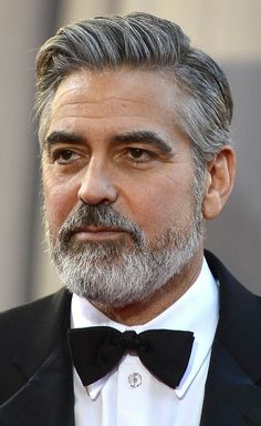 Cool Top 10 Best George Clooney Hairstyles 2016