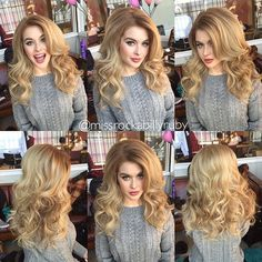 There's so many emotions that go along with big hair! Shooting with…