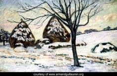 Winter Light - Armand Guillaumin - www.armandguillaumin.org