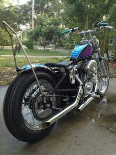 Ironhead stroker built by Dave Johnson in Clearwater Florida